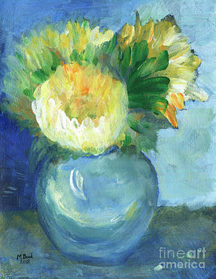 Painting - Sunflowers by Marlene Book