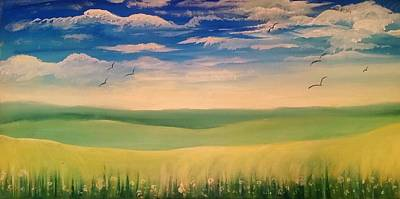 Painting - Sunny Day by Lisa Bunsey
