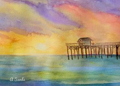 Painting - Sunny Florida by Anne Sands