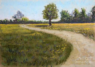 Pastel - Sunny Meadow by Jayne Wilson