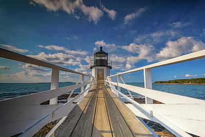 Photograph - Sunny Skies At Marshall Point by Rick Berk