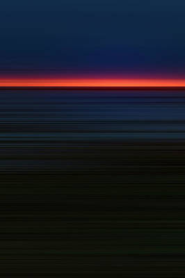 Abstract Stripe Patterns - Sunrise 1 by Scott Norris