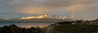 Photograph - Sunrise Across Beagle Channel, Patagonia by Mark Duehmig