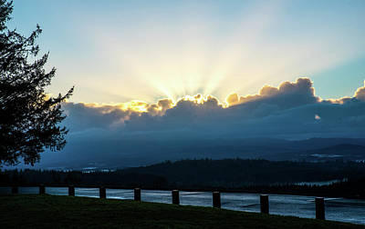 Photograph - Sunrise At Astoria Column by Tom Cochran