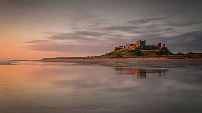 Photograph - Sunrise At Bamburgh by Victoria Redpath
