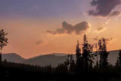 Photograph - Sunrise At Blue Bronna Wilderness Camp by Karen and Phil Rispin