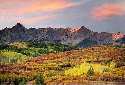 Photograph - Sunrise At Dallas Divide by Gordon Ripley
