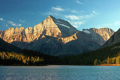 Photograph - Sunrise At Glacier by Todd Klassy