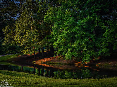 Wall Art - Photograph - Sunrise At Lake by James Fisher
