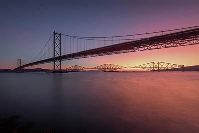Photograph - Sunrise At Port Edgar by Raymond Carruthers