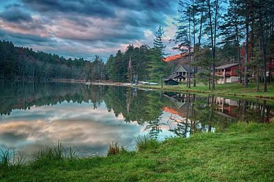 Photograph - Sunrise At The Cabin by Dan Urban