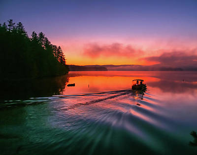 Photograph - Sunrise Colors by Stewart Helberg