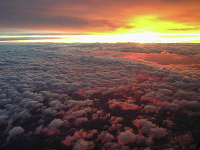 Photograph - Sunrise From Above by Mark Duehmig