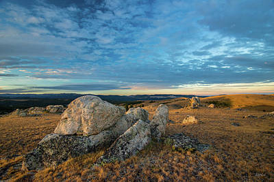 Photograph - Sunrise In The Bighorn Mountains by Leland D Howard