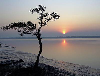 Ganges Photograph - Sunrise In The Sunderbans by Copyright Wild Vanilla