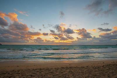 Photograph - Sunrise Kailua Beach by Mark Duehmig