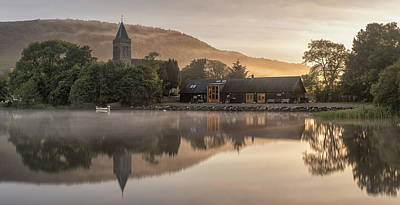 Photograph - Sunrise Lake Of Menteith by Victoria Redpath