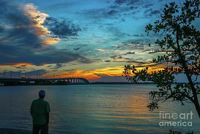 Photograph - Sunrise Man by Tom Claud