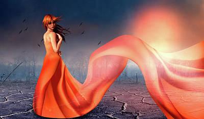 Digital Art - Sunrise by Mihaela Pater