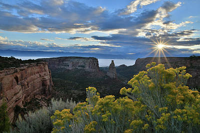 Photograph - Sunrise On Independence Canyon by Ray Mathis