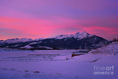 Photograph - Sunrise On Lake Dillon by Sharon Seaward