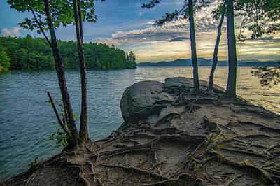 Photograph - Sunrise On Lake Jocassee South Carolina by Alex Grichenko