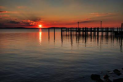 Photograph - Sunrise On The Bay by Mark Dodd