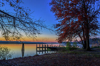 Photograph - Sunrise On The Patuxent by Cindy Lark Hartman