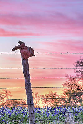 Photograph - Sunrise On The Ranch by JC Findley