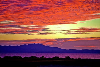 Photograph - Sunrise On The Sea Of Cortez by Annie Omens