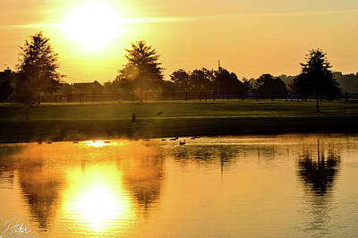 Wall Art - Photograph - Sunrise On The Water 2 by James Fisher