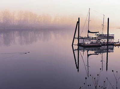 Photograph - Sunrise On The Willamette by Mark David Gerson