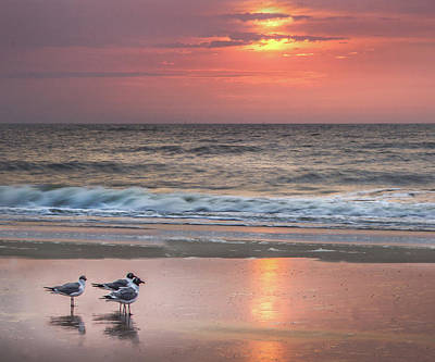 Photograph - Sunrise On Tybee Island  by James Woody