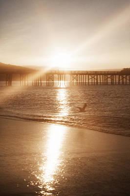Photograph - Sunrise Over Malibu by Bruno Maric