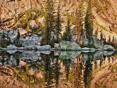Photograph - Sunrise Reflection by Leland D Howard