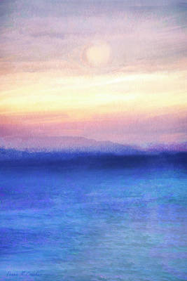 Outerspace Patenets Rights Managed Images - Sunrise Sunset Royalty-Free Image by Pennie McCracken - Endless Skys