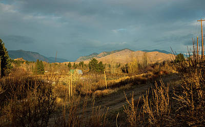 Photograph - Sunrise Under Gray Clouds by Tom Cochran