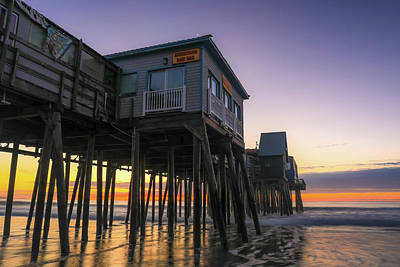 Photograph - Sunrise Under The Pier by Dan Sproul