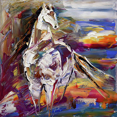 Painting - Sunrise Wind by Laurie Pace
