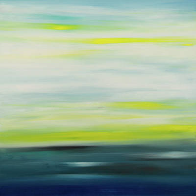 Painting - Sunset 5 by Hilary Winfield
