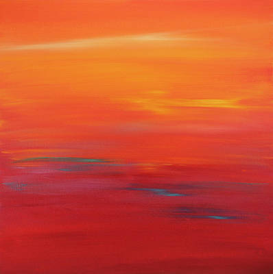 Painting - Sunset 58 by Hilary Winfield