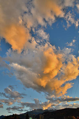 Photograph - Sunset Advances Over Ridgway Colorado by Ray Mathis