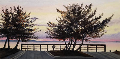 Painting - Sunset At 33rd by Susan E Hanna