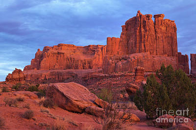Photograph - Sunset At Arches by Sharon Seaward