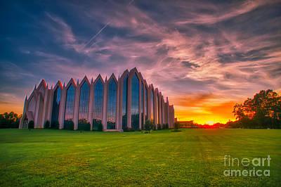Photograph - Sunset At Calvary V.1 by Daniel Brinneman