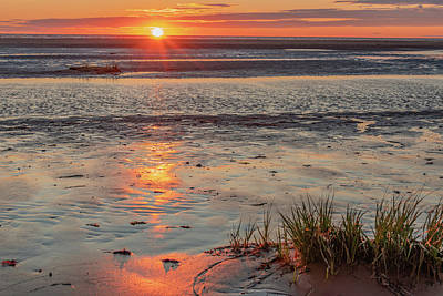 Aromatherapy Oils - Sunset at Carlton Cove, Prince Edward Island by Marcy Wielfaert
