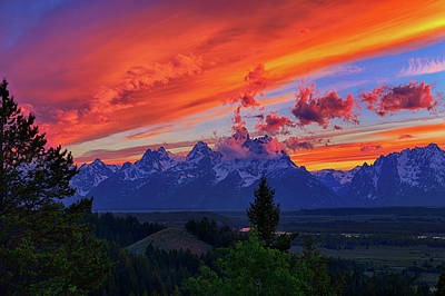 Photograph - Sunset At Fight Or Die Ridge by Greg Norrell