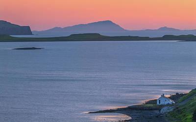 Photograph - Sunset At Stein, Waternish, Isle Of Skye by David Ross