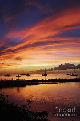 Trinidad And Tobago Wall Art - Photograph - Sunset At Store Bay by John Edwards