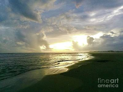 Photograph - Sunset At The Beach by Flavia Westerwelle